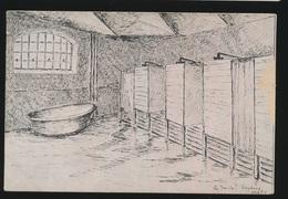 SIEGBURG 1916    Artiste -  Siegburg, Kriegsgefangenenlager???? - Autres