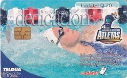 GUATEMALA - Atletas/Dedicacion, Chip GEM3.1, Used - Guatemala