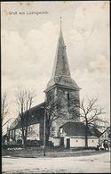 AK/CP Gruß Aus Lüdingworth        Cuxhaven    Gel./circ. 1915    Erh./Cond. 2   Nr. 01124 - Cuxhaven