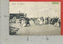 CARTOLINA VG BELGIO - OSTENDE - Sur L'Estacade - 9 X 14 - 1907 - Oostende