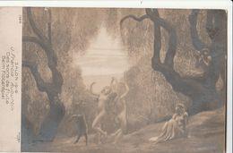 Cartolina - Postcard / Non Viaggiata - Unsent /  J. Francis Auburtin - Des Sons De Flute.. - Malerei & Gemälde