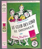 """Nouvelle Bibliothèque Rose N°265 - Club Des Cinq - Enid Blyton  - """"Le Club Des Cinq Se Distingue"""" - 1969 - Bibliothèque Rose"""