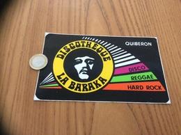AUTOCOLLANT, Sticker « DISCOTHÈQUE LA BARAKA - QUIBERON (56)» - Adesivi