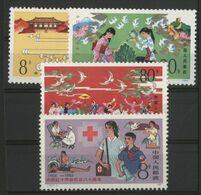 CHINA / CHINE 1984 Value 2.75 € Y&T N° 2655 + 2680 à 2682 ** MNH. VG/TB. - 1949 - ... People's Republic