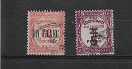 FRANCE   TAXE  N° 63+65    OBLITERES - 1859-1955 Oblitérés