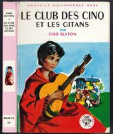 """Nouvelle Bibliothèque Rose N°56 - Club Des Cinq - Enid Blyton  - """"Le Club Des Cinq Et Les Gitans"""" - 1967 - Bibliothèque Rose"""