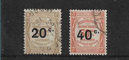 FRANCE TAXE   N° 49/50   OBLITERES - 1859-1955 Oblitérés