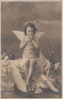 CPA  ENFANT ANGE   Précurseur - Portraits