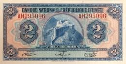 Haiti 2 Gourdes, P-186a (1964) - UNC - RARE - Haiti