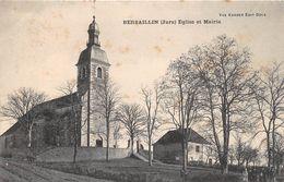 BERSAILLIN - Eglise Et Mairie - France