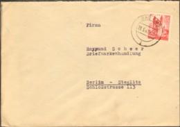 Frz.Zone Rheinl.Pfalz 24 Pfg. Persönl.u.Ansichten A.Fernbrief V.1947 Aus Bad Ems - French Zone