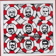 Sticker Autocollant Redder Strandreddingsdienst Blankenberge Vintage Retro Coast Gard - Stickers