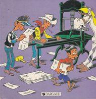"LUCKY LUKE, ""LE DAILY STAR"" , Morris - Livres, BD, Revues"