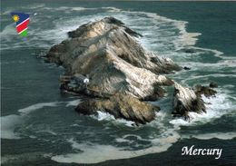 1 AK Namibia * Blick Auf Mercury Island - Die Insel Gehört Zur Inselgruppe Der Penguin Islands * - Namibia