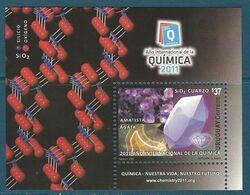 Uruguay - 2011 Minerals, Year Of Chemistry MNH** - Lot. A364 - Minéraux