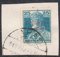 HONGRIE N°25 SUR FRAGMENT - Ungarn (1919)