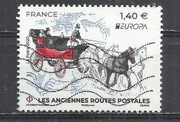 FRANCE 2020 - EUROPA - POSTALLY USED OBLITERE GESTEMPELT USADO - Frankreich