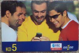 KUWAIT - 5 KD - Eezee Mtc Vodafone - Kuwait