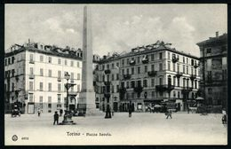 Torino - Piazza Savoia - Non Viaggiata - Rif. 16356 - Places & Squares