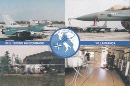 Nederland - Postkaart - Decisive Endeavour - Hell Houd Air Command - Villafranca - RNLAF - AB Twenthe - Ongebruikt - Militaria