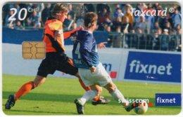 SWITZERLAND C-206 Chip Swisscom - Sport, Soccer - Used - Svizzera