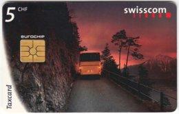 SWITZERLAND C-262 Chip Swisscom - Traffic, Bus - Used - Svizzera