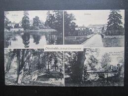 AK DIESTEDDE Schloss Crassenstein Wadersloh Kr. Warendorf Adelskorrespodendenz Ansembourg Gumppenberg  //  D*45108 - Warendorf