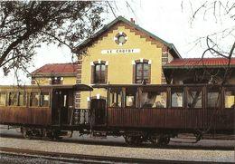 Voiture Salon De 1889 En Gare Du Crotoy - Chemin De Fer De La Baie De Somme - Photo Maurice Testu. - Le Crotoy