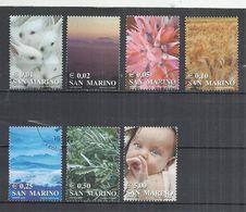 SAN MARINO 2002 - LIFE COLORS - USED OBLITERE GESTEMPELT USADO - San Marino