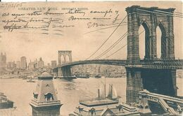 07 - 2020 - USA - ETATS UNIS - NEW YORK - Brooklyn Bridge - Altri