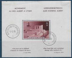 Belgique Bloc N° 8  - Cote : 18,50 € - Blocks & Sheetlets 1924-1960