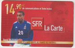 Télécarte : Mobi  SFR : Football :  David  Trezeguet - Frankreich