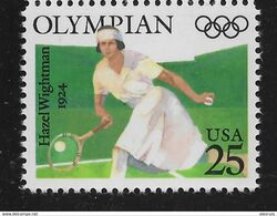 US 1990, Hazel Wightman Olympics (1924) Tennis, Scott # 2498,VF MNH**OG - Estate 1924: Paris