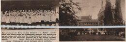 ASSCHE..MOLLEM..1935.. HET PENSIONAAT URSULINEN VIERDE HET HONDERDJARIG BESTAAN - Vieux Papiers