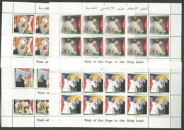 10x PALESTINE - MNH - Religions - Popes - 2000 - Papas