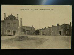 MAREUIL SUR LAY              LE MONUMENT DE 1914 - Mareuil Sur Lay Dissais