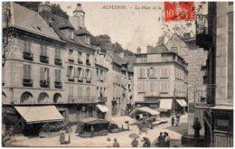 23 AUBUSSON - La Place De La Halle - Aubusson