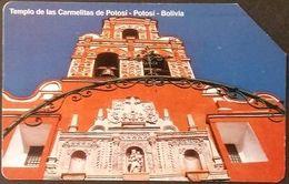 Telefonkarte Bolivien - Tempel - Potosi - Bolivien