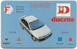 Togo - OPTT (Chip) - Ducros, SC7, 100Units, Used - Togo