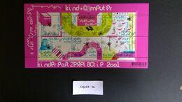 Nederland 2001 Kinderzegels Blok - Unused Stamps