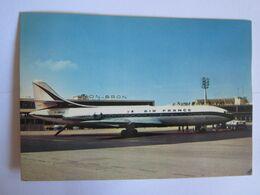Transports > Aviation > Aérodromes Lyon Bron Air France Caravelle Au Départ 69 Rhône - Aérodromes