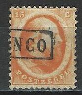 Niederlande NVPH 6, Mi 6 O - Used Stamps
