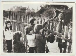 Chat Avec Des Enfants- Henri Coldeboeuf-(D.8030) - Gatos