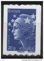 N° 600 ( 4573 ) Année 2011  Marianne De Beaujard Adhesif Roulette Sans Faciale 20g Europe - France