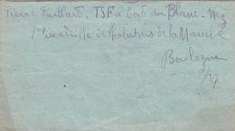 LETTRE  D UN MARIN AU BORD  DU BLANC NEZ  A BOULOGNE  A   MONSIEUR  SALLARD HOTEL A VERMENTON  YONNE   1915 - Vermenton