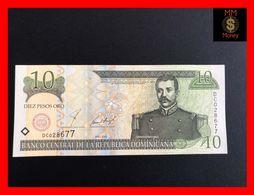 DOMINICANA 10 Pesos Oro 2001  P. 168   Printer  DLR  UNC - Dominicana