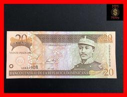 DOMINICANA 20 Pesos Oro 2002  P. 169   UNC - República Dominicana