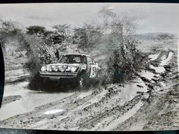 PHOTO Presse ORIGINALE : PORSCHE 911 _ Bjorn WALDEGARD _ SAFARI RALLYE 1978 - Cars