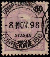 NYASSA - Scott #21 King Carlos I 'Overprinted' / Used Stamp - Sonstige - Afrika