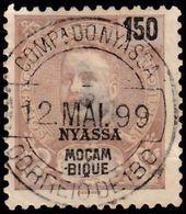 NYASSA - Scott #23 King Carlos I 'Overprinted' / Used Stamp - Sonstige - Afrika